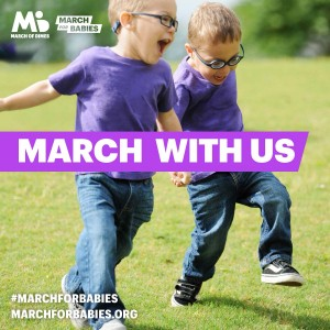 March of Dimes March with Us