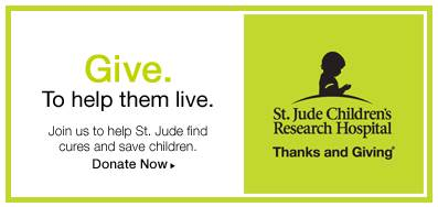 St Jude donate